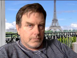 David Keener in Paris