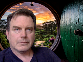 David Keener in the Shire
