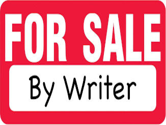 For Sale By Writer